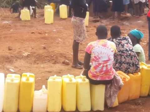 Agony as Kampala water taps run dry