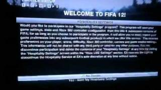 FIFA 12 Error Connecting(FIFA 12 won't connect to the EA servers on one gamertag already associated. New gamertag, and it works., 2011-10-14T04:59:48.000Z)