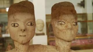 Levant/Egypt: 11,000 to 2,000 yrs ago Ancient Caucasian Skulls/Figurines