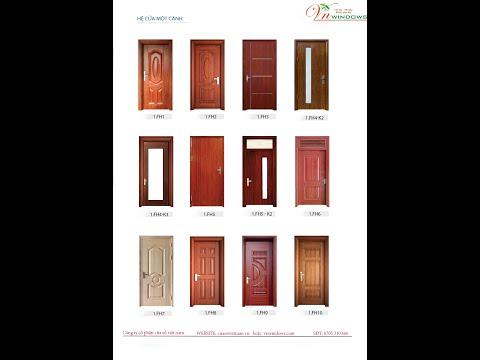 Mẫu cửa thép vân gỗ 1,2 cánh đẹp nhất 2021