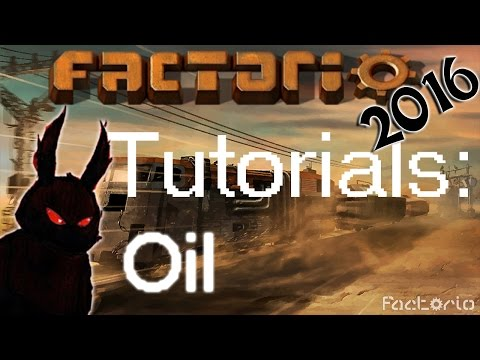 Factorio 2016 How to►Oil Transport Setup and Production Tutorial (+rail tanker mod)◀ [60fps, 1080p]