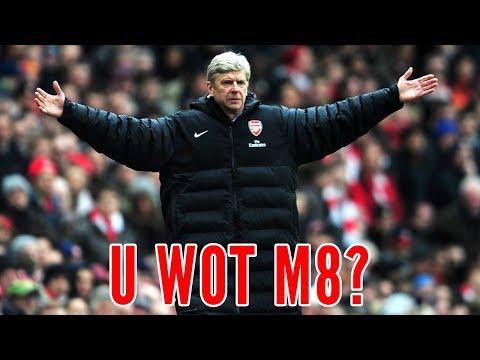 Wenger Responds To Arsenal Fan TV | U Wot M8?