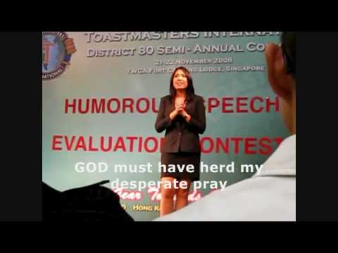 Humorours Speech with Subtitle HD