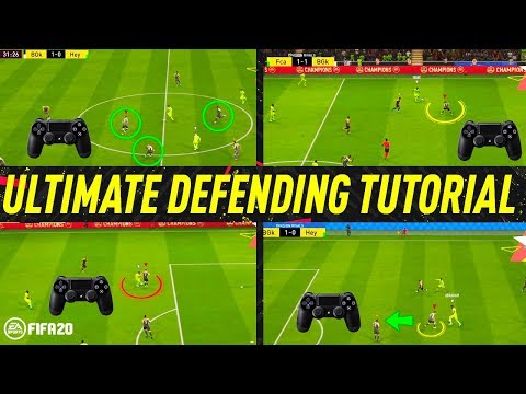 FIFA 20 ULTIMATE DEFENDING TUTORIAL  HOW TO DEFEND  BEST WAY TO JOCKEY, TACKLE & APPLY PRESSURE!