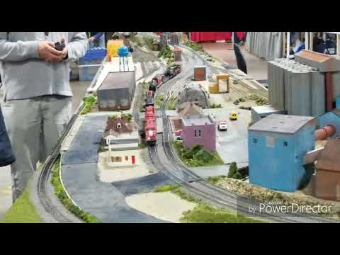 Amherst Railway Society Model Train Show 2018 in West Springfield, Mass