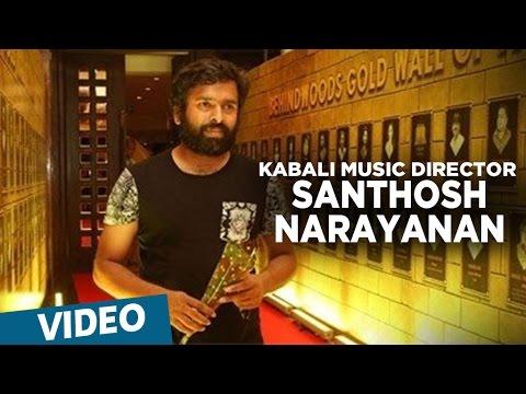 Santhosh Narayanan composing Maya Nadhi Song | Kabali | Rajinikanth | Pa Ranjith