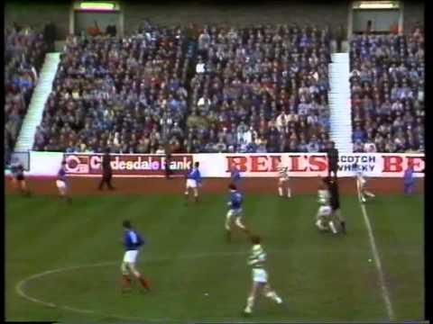 Rangers 1 - Celtic 2 Jan 83