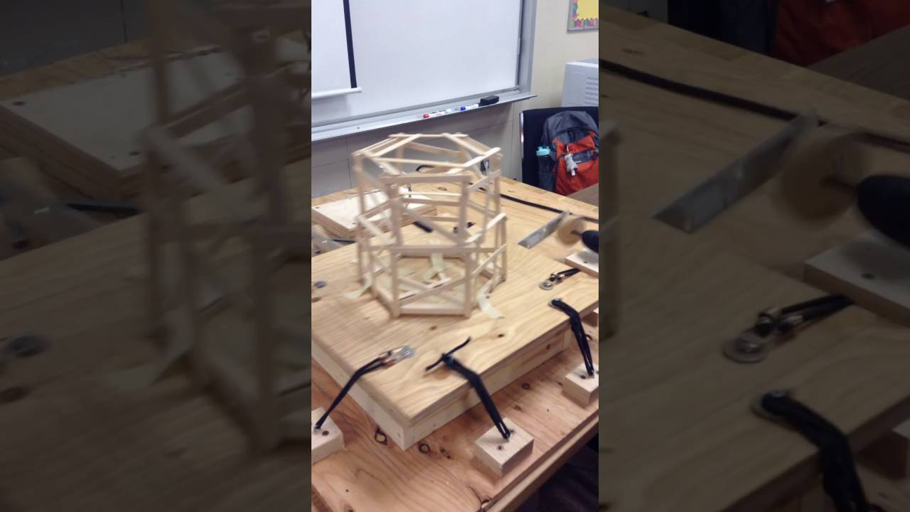 Popsicle Stick Earthquake Tower Test Reillys Robotics