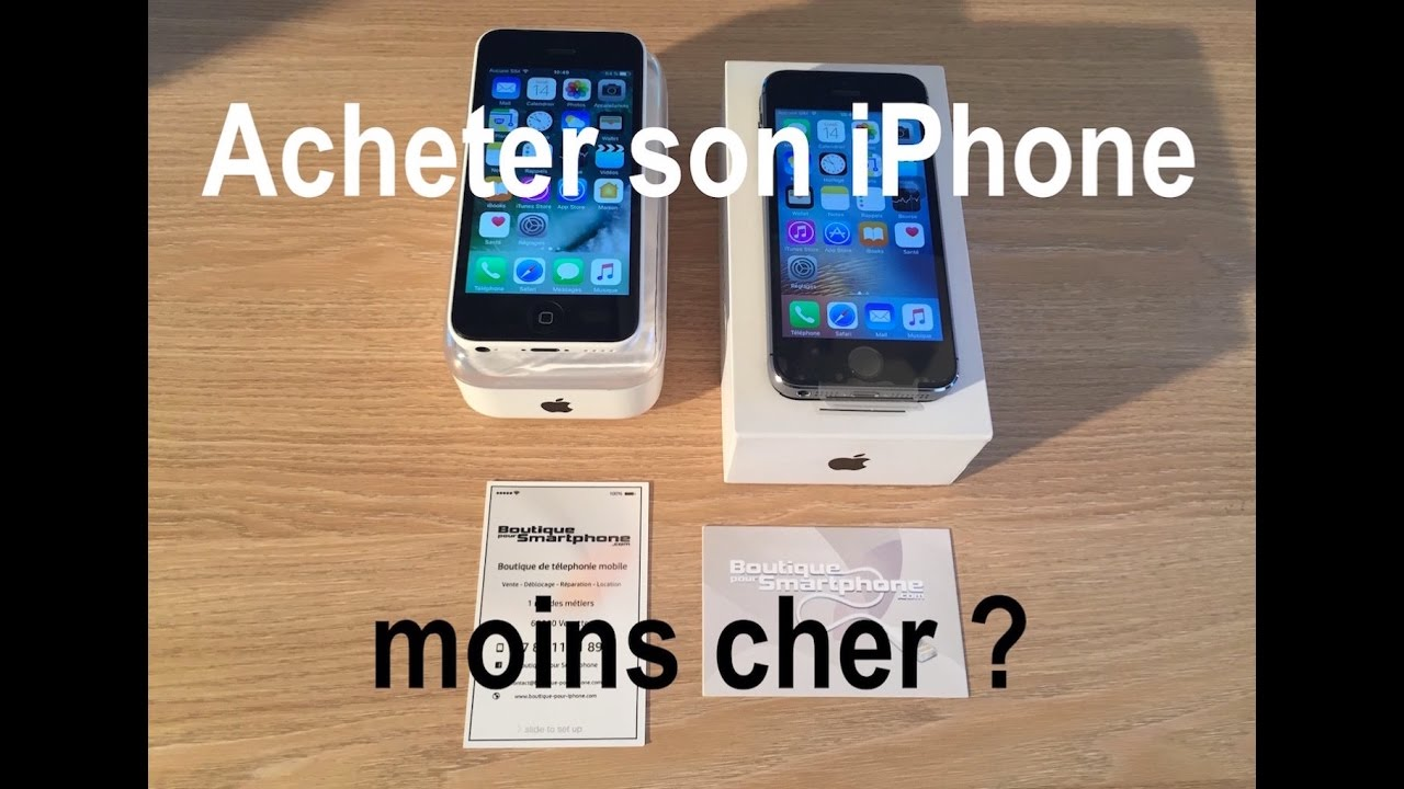acheter un iphone moins cher pensez aux reconditionn s. Black Bedroom Furniture Sets. Home Design Ideas