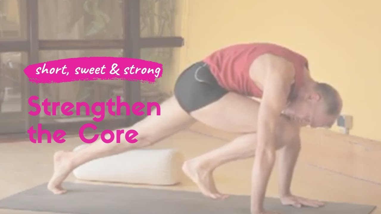 Strengthening the Core with Yoga