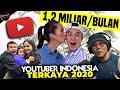 - Penghasilan Melejit! Ini 10 Youtuber Terkaya Indonesia 2020