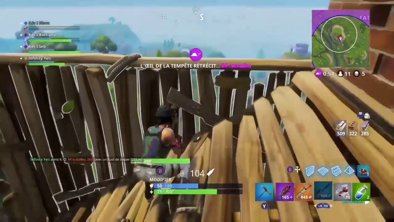 Yeti Sniper Moments Fortnite Youtube