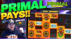 PRIMAL PAYS! Online Slots Megaways Madness!
