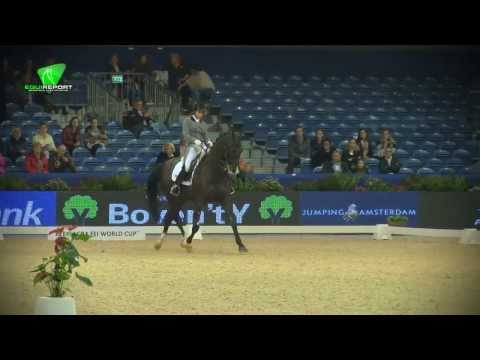 Danielle v Mierlo - BMC Ucento Rabo Cup U 25 Jumping Amsterdam