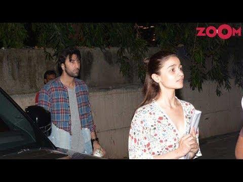 Ranbir Kapoor & Alia Bhatt spotted together outside dance class Mp3