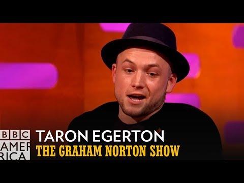 Taron Egerton is Not a Name Dropper  The Graham Norton   BBC America