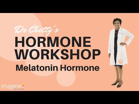 Melatonin The Sleep Hormone - Dr Vijaya Chetty's Hormone Workshop
