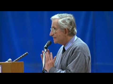 Noam Chomsky - Liberal vs. conservative media in the US
