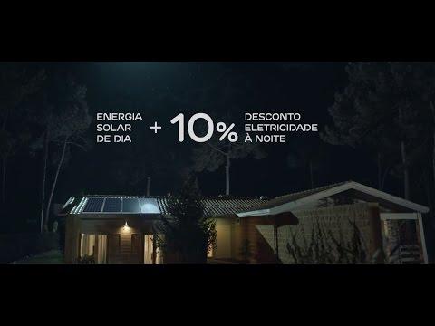 Energia Solar EDP com 10% desconto na eletricidade à noite.
