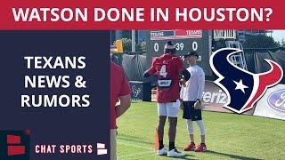 Deshaun Watson Will Never Play For The Houston Texans Again? + Texans Training Camp News