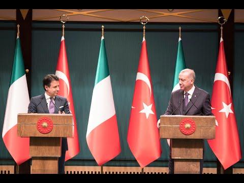 Dichiarazioni congiunte Conte - Erdoğan