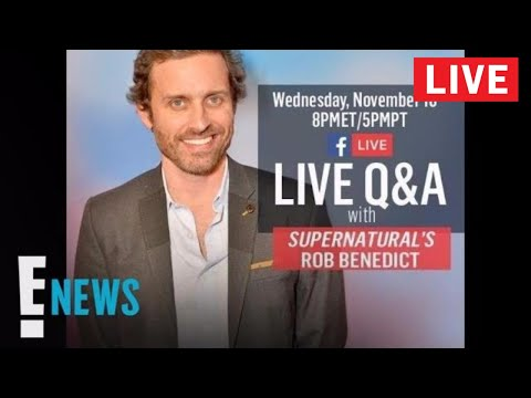 Live from E! - Supernatural's Rob Benedict Performs Live and Dishes on Kings of Con | E! News