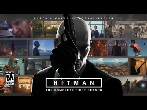 Hitman Complete Season 1 Movie - Full Story - All Missions -  Silent Assassin Suit Only