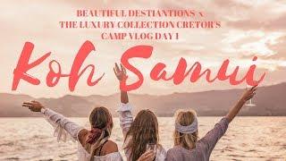 KOH SAMUI VLOG DAY 1 x BEAUTIFUL DESTINATIONS & TH...