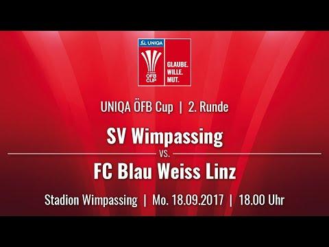 18.09.2017 / 18:00 Uhr SV Wimpassing (WIM) vs. FC Blau Weiss Linz (BWL)