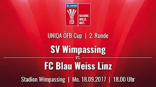 SV Wimpassing vs BW Linz full match
