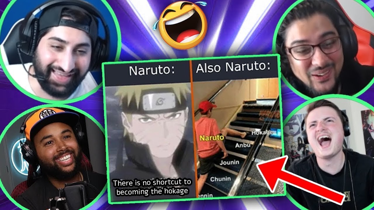 It's Impossible, Try Not To Laugh At Anime @SSJ9K (Naruto, Dragon Ball Super & Funny Anime Memes)