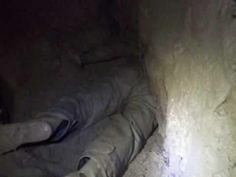 caver gets stuck