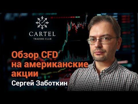 Обзор CFD на американские акции. Сергей Заботкин 25.02.2019