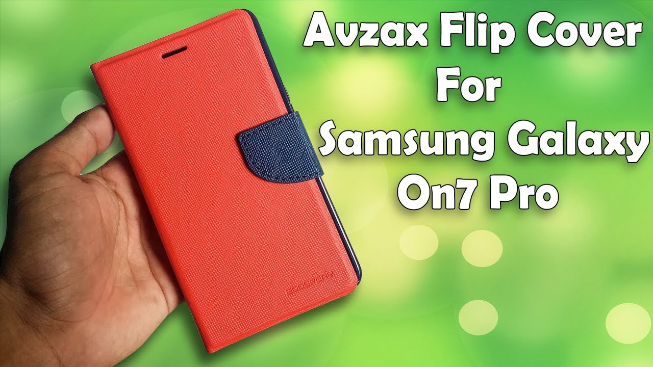 separation shoes 2081a f5eb0 Avzax Flip Cover For Samsung Galaxy On7 Pro Unboxing !