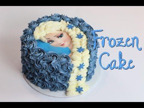 GÂTEAU REINE DES NEIGES | FROZEN CAKE