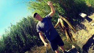 Вело-водний похід-рибалка. Ловля окуня і щуки. Велосипед на риболовлю.