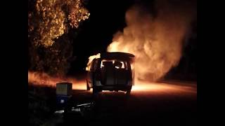 Van Fire (Feb 28th 2015)