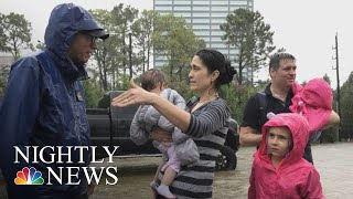 Houston Family Looks Back On Hurricane Harvey | NBC Nightly News