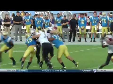 UCLA Football Highlights 2016:  UNLV