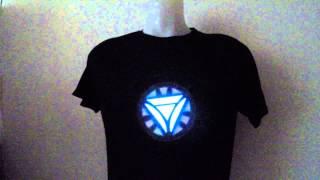 IRONMAN LED T Shirts (www.cool-mania.com)