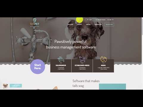 Getting started with 123Pet Software