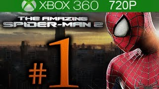The Amazing Spider-man 2 Walkthrough Part 1  720p Hd  - No Commentary - The Amaz