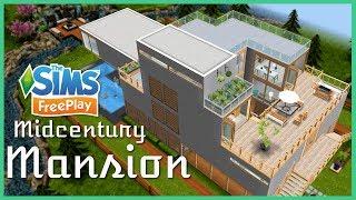 sims freeplay mansion modern