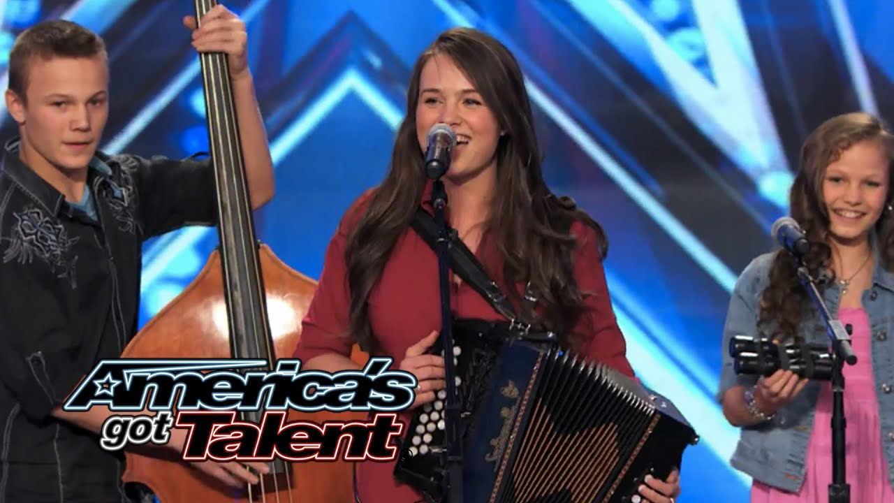 The Willis Clan Band Of Siblings Impress With Sound Of Music Cover Americas Got Talent 2014
