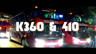 Halmahera Scania K360 & 410 Opticruise Transmission At Pelabuhan Merak Banten