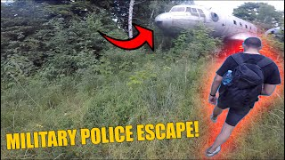 ESCAPE FROM ARMED MILITARY POLICE IN BULGARIA!! Sneaking into military base..