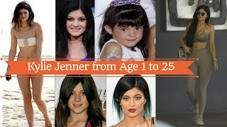 Kylie jenner Transformation From Age 1 to Age 19