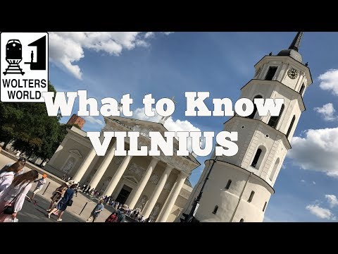 Visit Vilnius - 5 Tips Before You Visit Vilnius, Lithuania