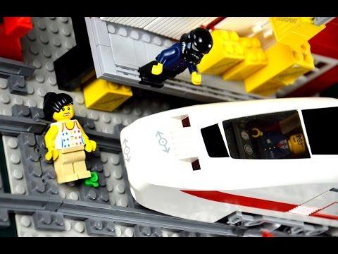 Lego girl killed by Lego train? (Part 2)