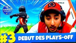 DEBUT DES PLAYS-OFF ! (ft. MANE) ► FORTNITE GAMERS ASSEMBLY #13